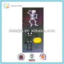 Beautiful transparent laser pvc sticker for Hallowmas