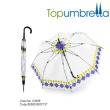 2018 Venta caliente especial PVC burbuja Dome Clear niños Paraguas 2018 Venta especial caliente PVC burbuja Dome Clear niños Paraguas
