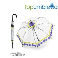 2018 Venda quente especial PVC bolha Dome Limpar crianças Guarda-chuva 2018 Venda quente especial PVC bolha Dome Limpar crianças Guarda-chuva