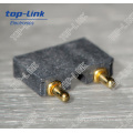 2 Pin Right Angle Spring Loaded Pogo Pin Connector