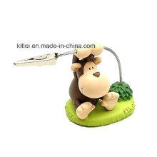 Animal figura ecológico regalo de Navidad Inflables de plástico de vinilo de juguete de mono