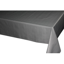 Couvertures de table de boule de nappe de tissu de relief solide