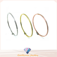 2016 New Product Wholesale Fashion Jewelry 925 Silver Bangle (G41282)