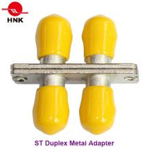 Adaptador Estándar de Fibra Óptica Estándar St Duplex