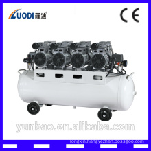 noiseless oil free air compressor