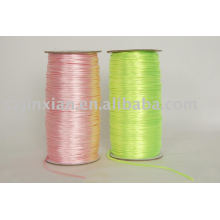 Cordão de nó chinês, cordão de seda colorido