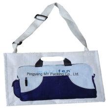 Saco não-tecido laminado BOPP da promoção feita sob encomenda do carteiro