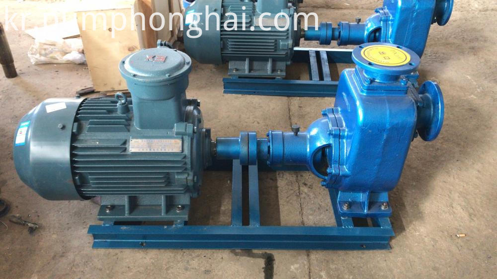 self priming water pump