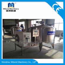 Санитарная нержавеющая сталь 100L-200L или изготовленное на заказ охладитель молока Оборудование для обработки молока для продажи