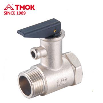TMOK Válvula de seguridad de latón para la válvula de seguridad de liberación de calentador de agua CE aprobado