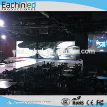 Pixel führte smd Innen geführte Videowand P6 Innenmiete geführte Wand für DJ / Nachtklub