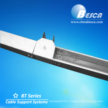 3 Compartment Office Cable Trunking For Flexible Loads Running