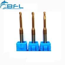 Фрезы BFL с длинным шеем и короткими канавками на концах флейты