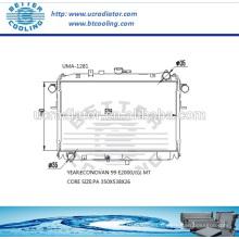 Radiador auto para MAZDA ECONO VAN 99 E2000 / (G) MT OEM: F85015200A