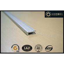 Trilho de pista de alumínio com velcro Gl3003 para janela Roman Blind Decoration