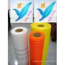 10mm * 10mm 110G / M2 Toile de renforcement en fibre de verre