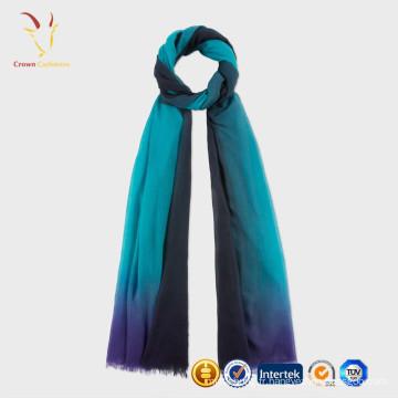 Écharpe tissée de foulard de soie de cachemire de dames
