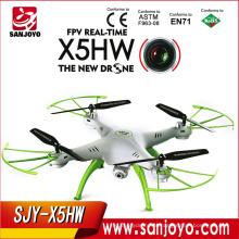 Горячий продавать пульт дистанционного управления игрушки RC с fpv беспилотный вертолет quadcopter СЫМА X5HW с HD камеры для syma X5HW