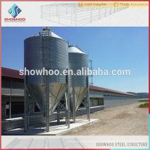 Estructura de acero granja pollo aves pollo casa cobertizo construcción diseños edificio
