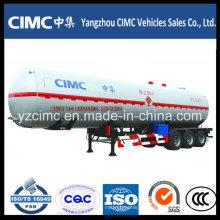Cimc 3 Axle LPG Tanker Semi Trailer