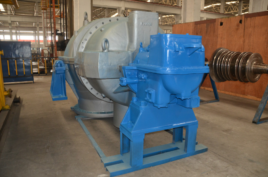 Condensing Steam Turbine 7