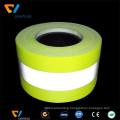China supplier fluorescent yellow fire retardant reflective tape for firefighter uniform