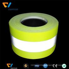 coser en la cinta reflectante ignífuga de la cinta reflectante del desgaste de la seguridad