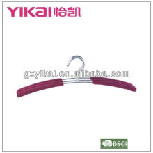 set of 3pcs EVA foam coated metal shirt hangers