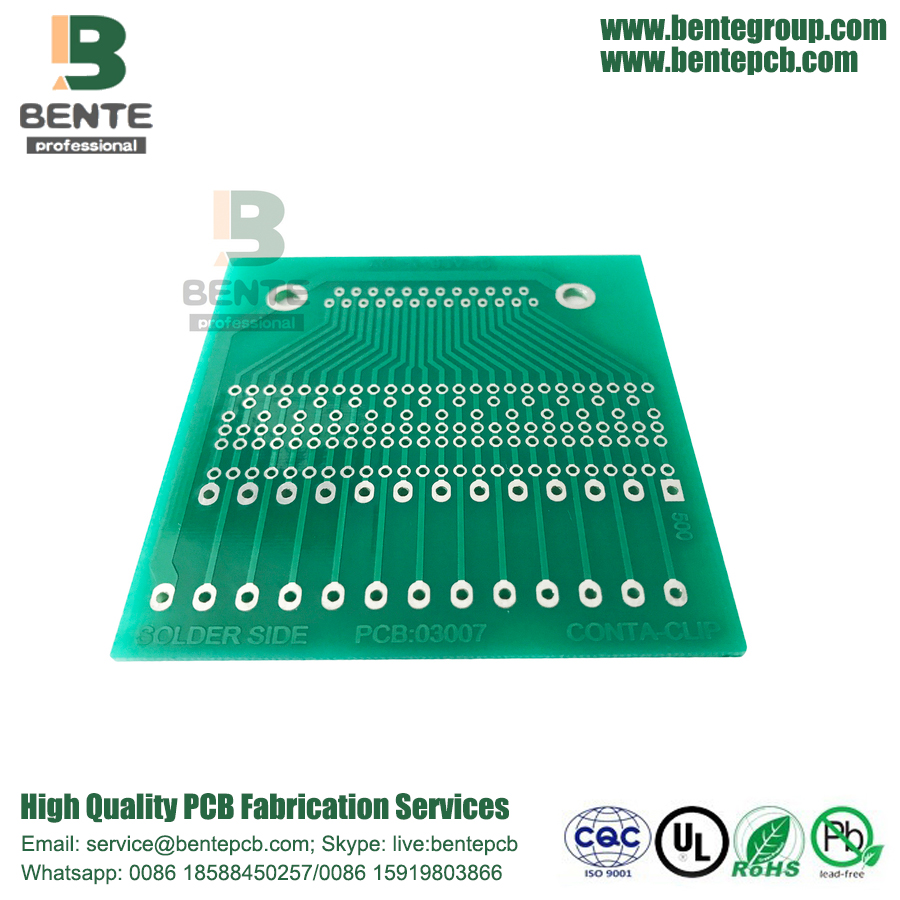 FR4 Tg135 Low Cost PCB 1 Layer PCB HASL lead free