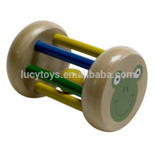 Baby Wooden Bell Rattle Spielzeug