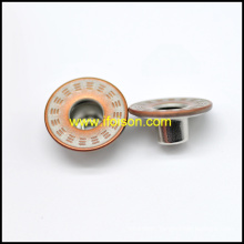 Simple Standard Brass Jeans Button
