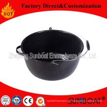Olla común del esmalte 16qt con la manija / cubo Stock Pot Houseware