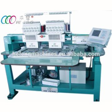 Multi-functional 2 heads Tubular computerized embroidery machine