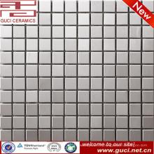 Vente chaude produit cuisine mur en acier inoxydable mosaïque