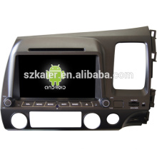 Factory android car digital TV for Honda 2006-2011 Civic(Right) with GPS/Bluetooth/TV/3G/WIFI