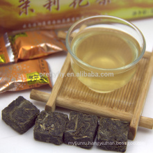 Jasmine Flavored Tea Blocks China Yunnan High Quality Compressed Green Tea
