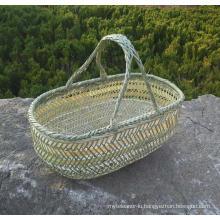 High Quality Handmade Natural Bamboo Basket (BC-NB1026)