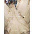 Тяжелые бисером с длинным рукавом свадебное платье свадебное платье 2017