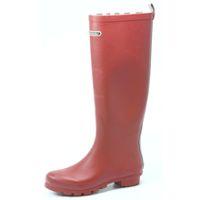 Red Hunter Last Rubber Rain Boots For Women