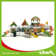 Forest Series Outdoor Spielplatz Long Tube Slide LE.LL.003