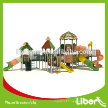 Forest Series Outdoor Playground Long Tube Slide LE.LL.003