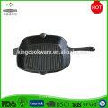 Wholesale Pre-seasoned Korean BBQ Cast Iron Square Grill Griddle Pan