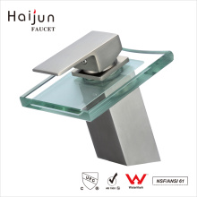 Haijun Manufacture Prices Single Handle Health Deck-Mounted Basin Faucet