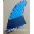 2016 blue color hex durable Surfing fin Soft Surfboard fin popular