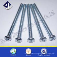 Made in China Jinrui Carbon Stahl Knopf Kopf Schraube