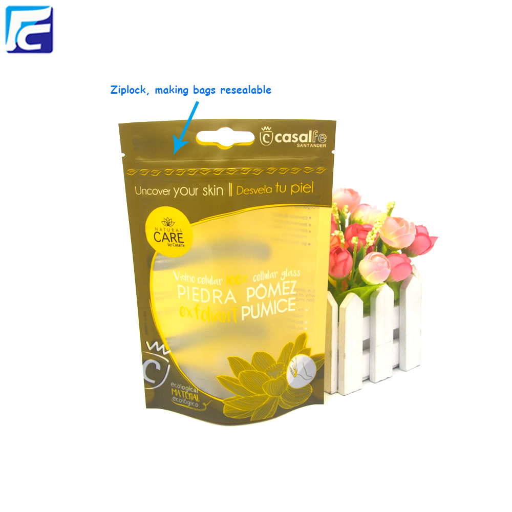 Custom Print Plastic Salt Packaging Pouch Bags