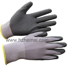 15g Nylon Spandex Gloves Ultra Thin Nitrile Gloves Work Glove
