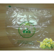 fresh vegetable plastic bag with holes/punch hole plastic bag/perforated bags