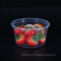 480ml wholesale disposable PP clear plastic bowl with lid