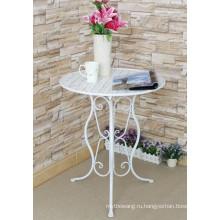 Складной стол для внутренней и наружной мебели из кованого железа